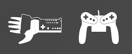 Nintendo powerglove and virtua boy controller