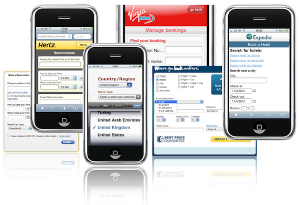 Mobile and Web forms