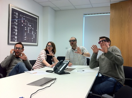 9/10 stakeholders prefer watching user testing in 3D