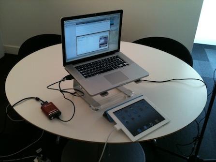 ipad user testing kit